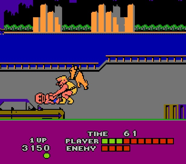 In Bad Street Brawler, tickle dead people while dogs try to mount you from behind. Just like in real life.