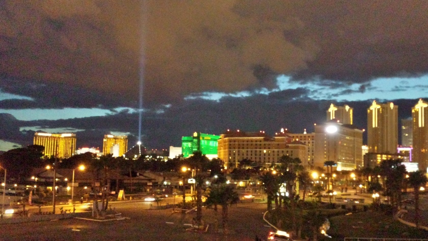 The Luxor functions as the biggest porch light to attract the most moths.