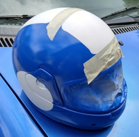 Mega Man Helmet 3