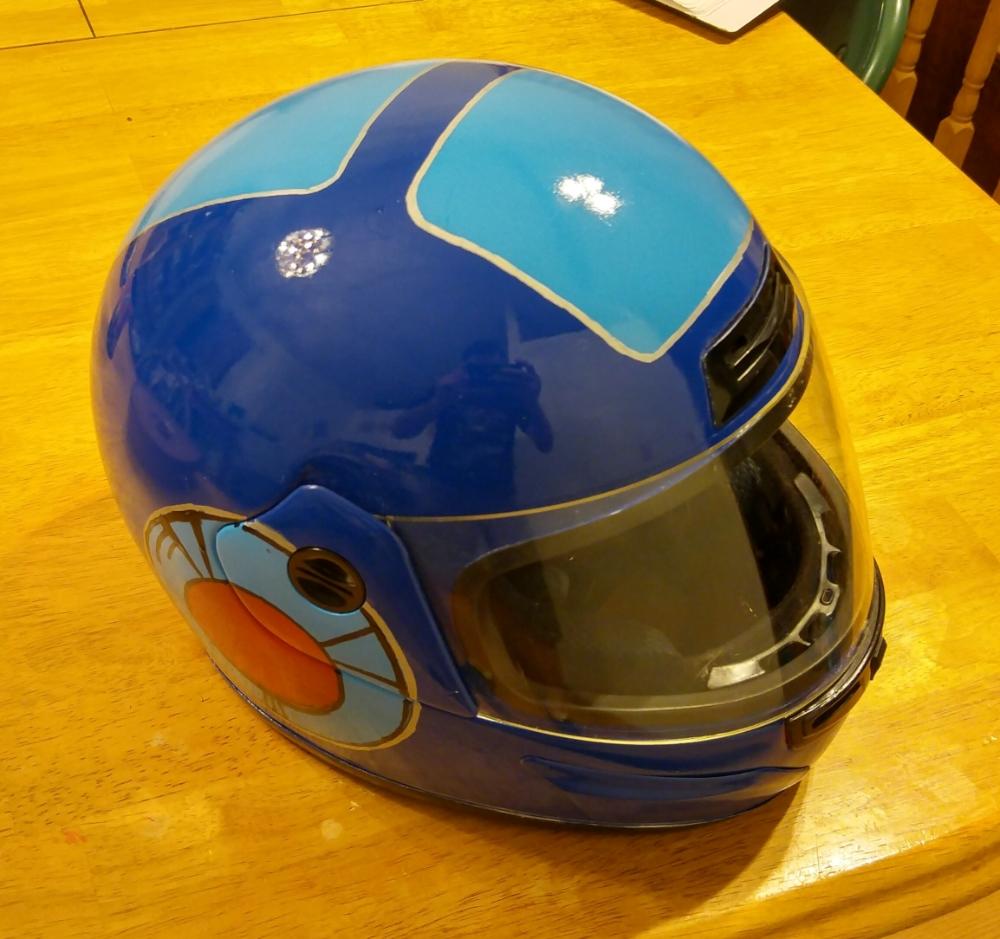 Mega Man Helmet 6