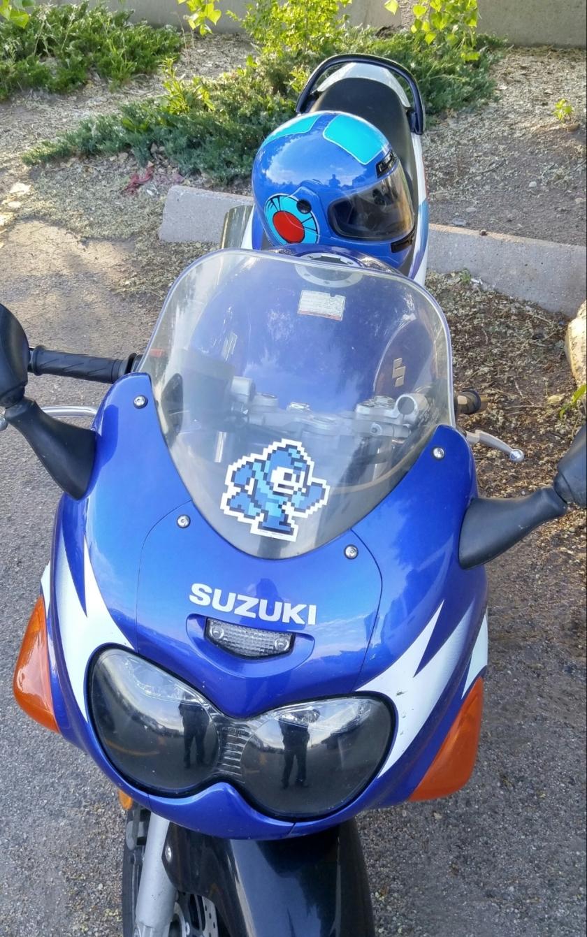 Mega Man Helmet 7